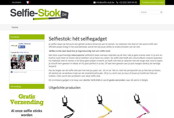 Selfie-Stok.be